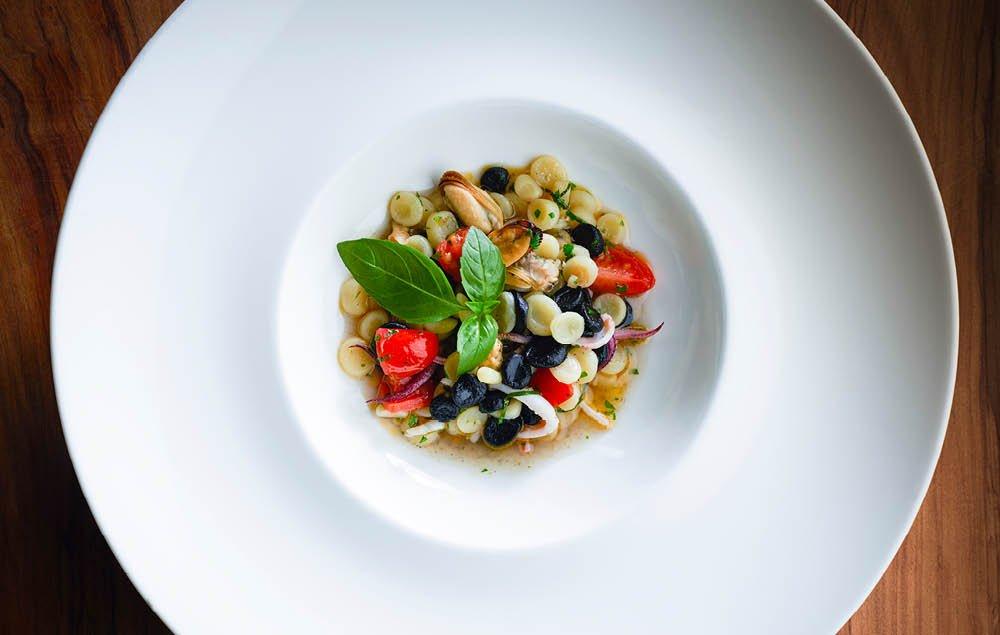 Cavatelli, Muscheln, Calamaretti